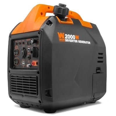 WEN 56203i Super Quiet 2000W Portable Inverter Generator with Fuel Shut Off