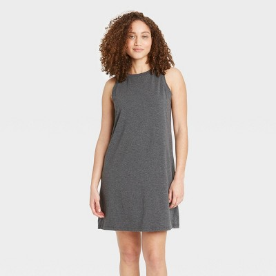 Women's Sleeveless Nightgown - Stars Above™ Charcoal