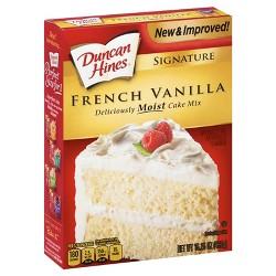 Duncan Hines Moist Deluxe French Vanilla Premium Cake Mix - 15.25oz