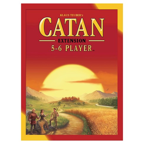 Catan Board Game 5-6 Player Expansion Pack - image 1 of 1