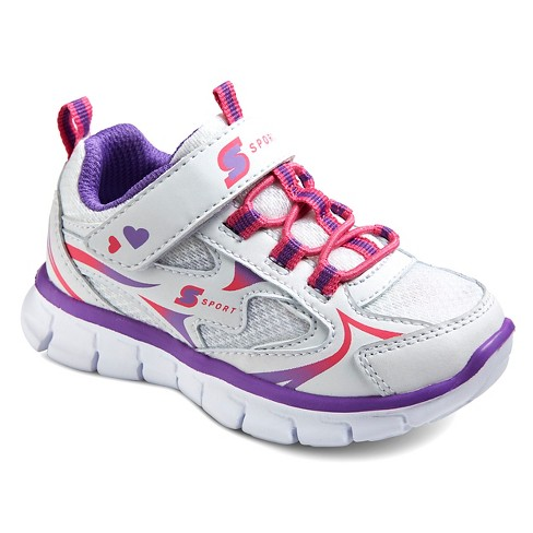 0d9038186 Toddler Girls  Sport Designed By Skechers™ Washabubble Performance Athletic  Shoes - White 5   Target