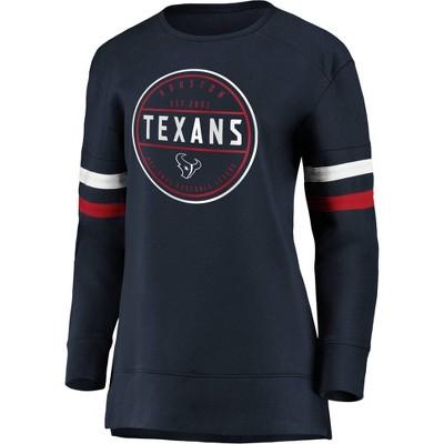 NFL Houston Texans Women's Long Sleeve Fleece Sweatshirt