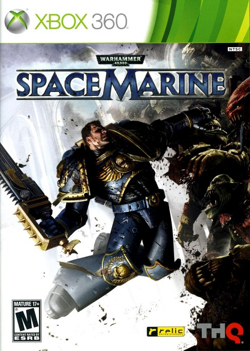 Warhammer 40,000 : Space Marine PRE-OWNED Xbox 360 - image 1 of 1