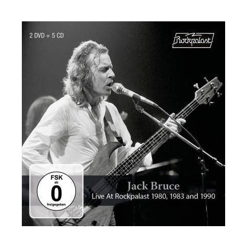 Jack Bruce - Live At Rockpalast 1980, 1983 And 1990 (CD) - image 1 of 1