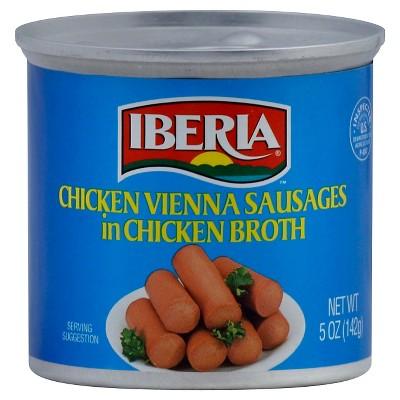 Iberia Chicken Vienna Sausages in Chicken Broth - 5oz