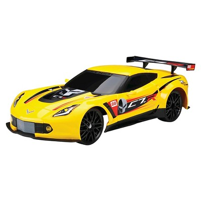 New Bright 1:12 Full Function R/C Chargers Corvette C7R, Yellow