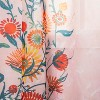 Floral Daisy Light Filtering Curtain Panel Pink - Opalhouse™ - image 4 of 4