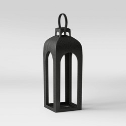 Metal Outdoor Lantern Natural - Smith & Hawken™