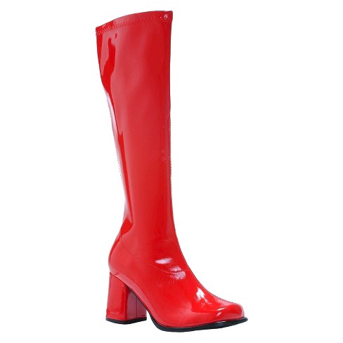 Women's Costume Gogo Boots Red - image 1 of 1