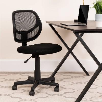 Low Back Mesh Swivel Task Chair - Flash Furniture