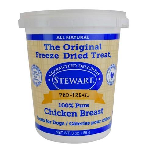 Stewart Freeze - Dried Chicken Breast Dog Treat - image 1 of 3
