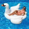 4-Pack Swimline Giant Inflatable Ride-On 75-Inch Swan Floats | 4 x 90621 - image 4 of 4
