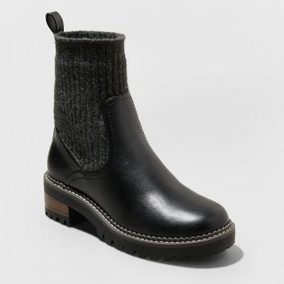 Women's Daphne Sock Boots - Universal Thread™