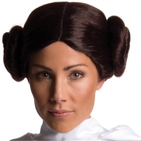 Rubie's Star Wars Princess Leia Wig Adult Costume Accessory - image 1 of 1
