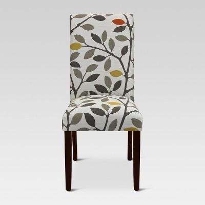 Avington Print Accent Dining Chair - Mackie Maple - Threshold™