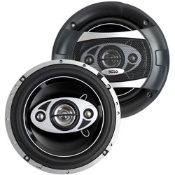 "2) NEW BOSS AUDIO P65.4C 6.5"" 4-Way 400W Car Coaxial Speakers Stereo P654C"
