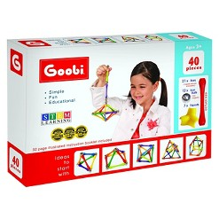 Goobi Magnetic Construction Set - 40 Piece
