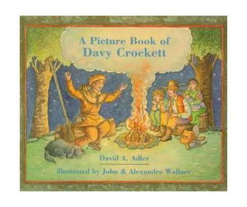 Picture Book of Davy Crockett (Paperback) (David A. Adler) - image 1 of 1