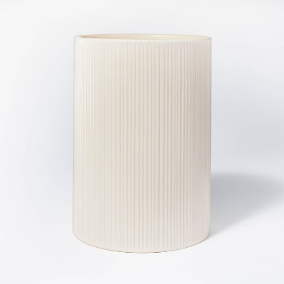 Textured Ceramic Vase Off White - Threshold™ designed with Studio McGee
