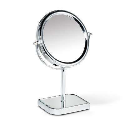 Glass Make Up Mirror Silver - 88 Main