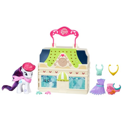 My Little Pony Friendship is Magic Rarity Dress Shop Playset - image 1 of 3