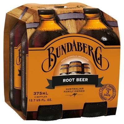 Bundaberg Root Beer Soda  - 4pk/375ml Bottles