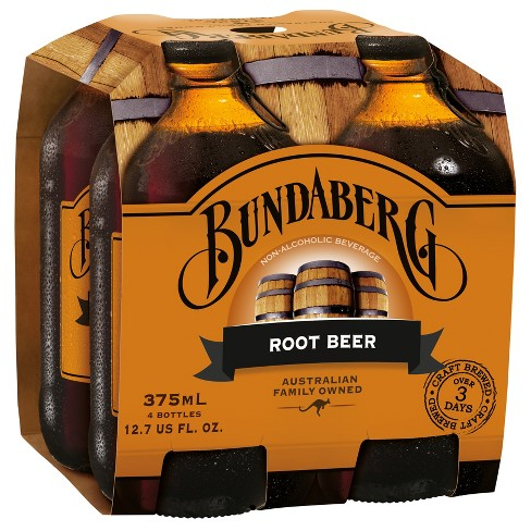 Bundaberg Root Beer - 4pk/375ml Bottles - image 1 of 2