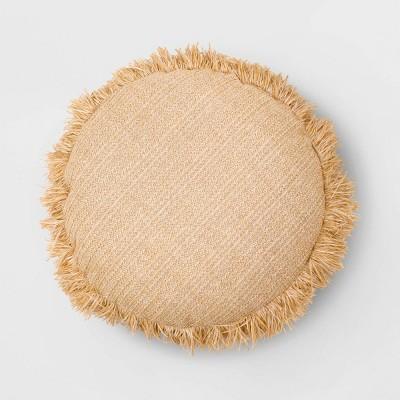 Round Throw Pillow Natural - Opalhouse™