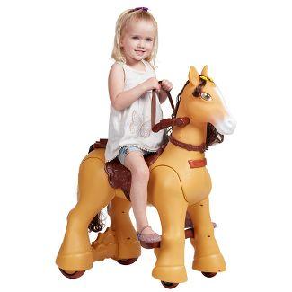 ECR4Kids My Wild Pony Motorized Ride-On Horse for Kids 12V Battery Powered Electric for Boys & Girls