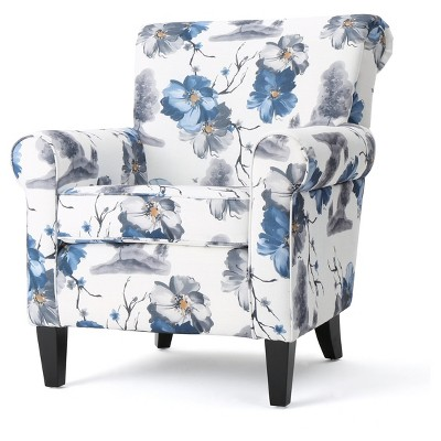 Roseville Upholstered Club Chair   Christopher Knight Home
