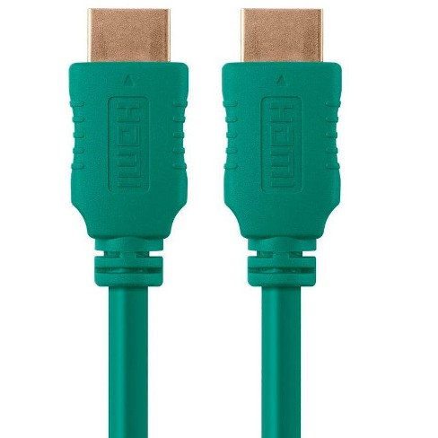 6ft 10.2Gbps Monoprice Select Metallic Series High Speed HDMI Cable 28AWG Black 4K @ 24Hz