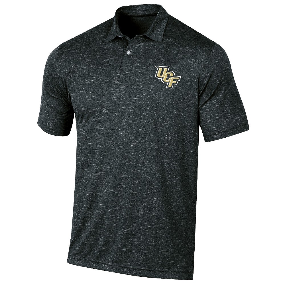 Ucf Knights Men's Short Sleeve Twisted Jersey Polo Shirt - Xxl, Multicolored