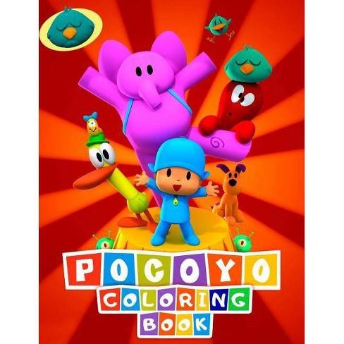 Pocoyo Coloring Book - by Linda Cute (Paperback)