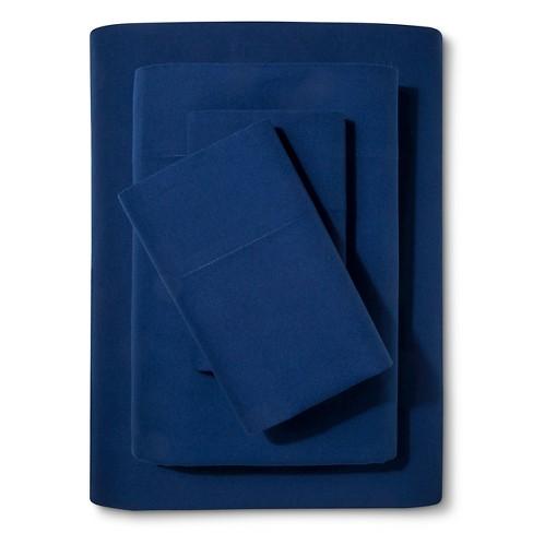 Solid Cotton Sheet Set - Pillowfort™ - image 1 of 2