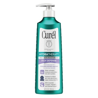 Body Lotions: Curél Hydra Therapy Itch Defense