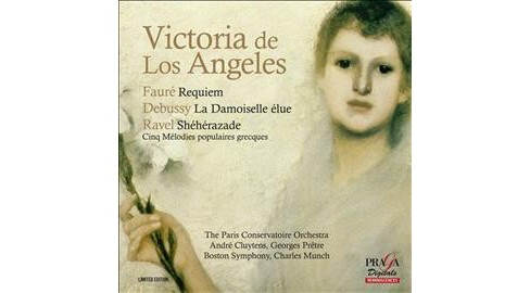 Vict De Los Angeles - Faure/Debussy/Ravel:Requiem/La Demois (CD) - image 1 of 1