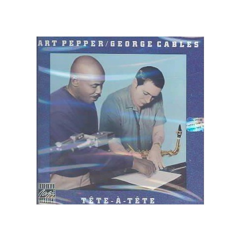 Art Pepper - Tete a Tete (CD) - image 1 of 1