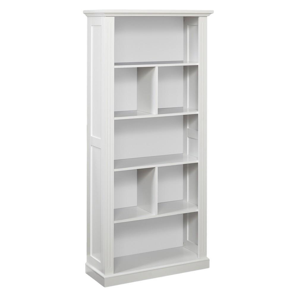 69.75 Preston Bookcase - White - Buylateral