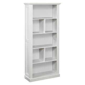 """69.75"""" Preston Bookcase - White - Buylateral"""