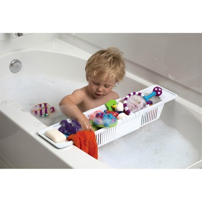 KidCo Bath Storage Basket, White