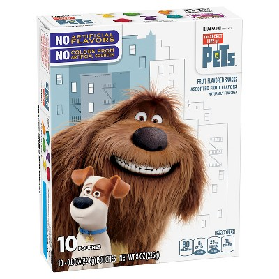 Fruit Snacks: The Secret Life Of Pets