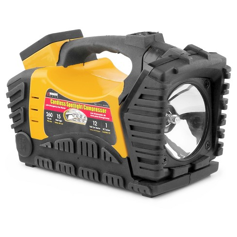 Wagan Cordless Spotlight Compressor with LED and Auto Jumpstarter - image 1 of 8