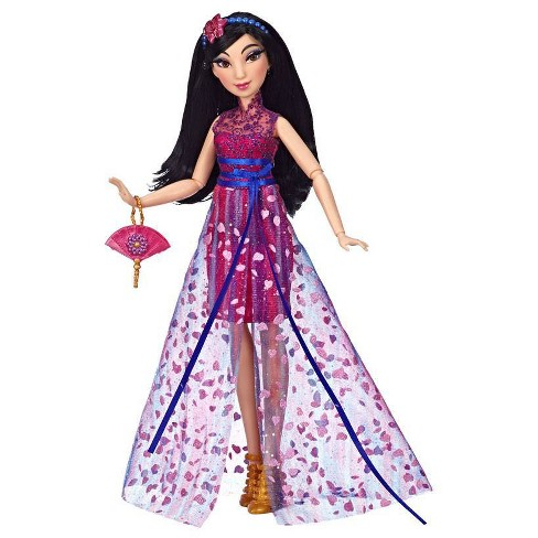 Disney Princess Style Series, Mulan Doll in Contemporary Style with Purse and Shoes - image 1 of 4