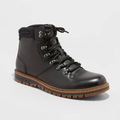 Men's Bryce Hiker Booties - Goodfellow & Co™ Black
