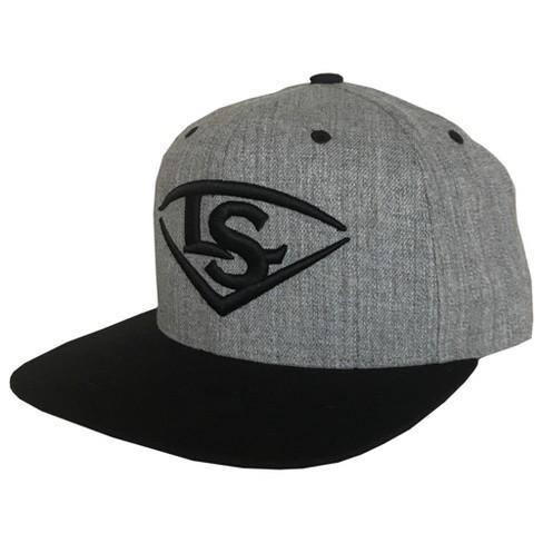 Louisville Slugger LS Logo Flat-Bill Snapback Baseball Softball Hat ... 04b41c9f595
