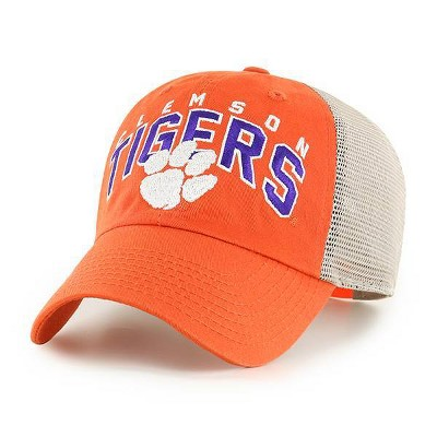 NCAA Clemson Tigers Men's Hunch Relaxed Fit Hard Mesh Back Snapback Hat