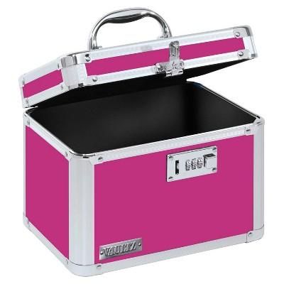 Vaultz Personal Storage Box with Combination Lock - Pink