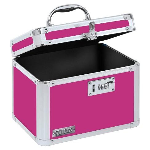 Vaultz Personal Storage Box With, Storage Box With Lock
