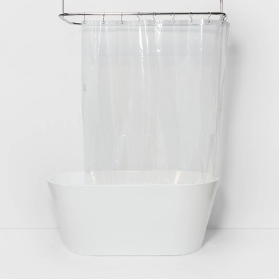 71 x71  Solid Shower Liner Clear - Made By Design™