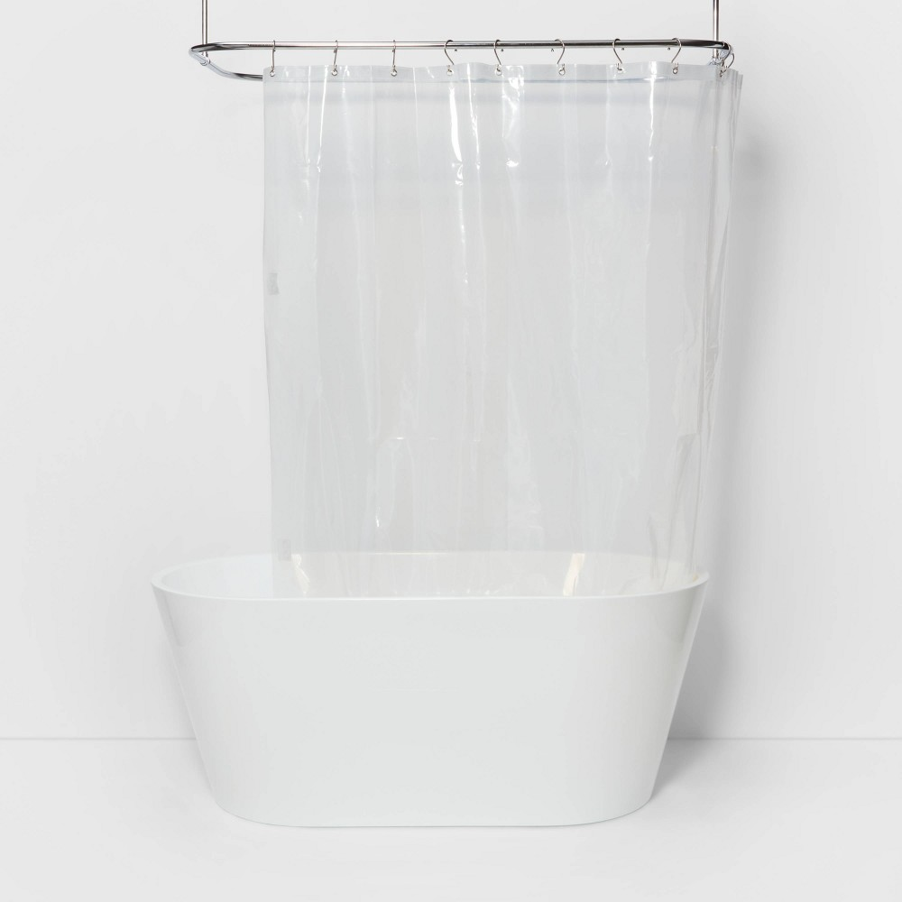Peva Heavy Weight Shower Liner Clear Made By Design 8482